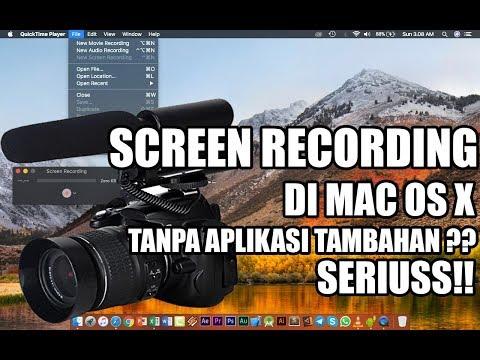 CARA SCREEN RECORDING DI MAC TANPA APLIKASI TAMBAHAN