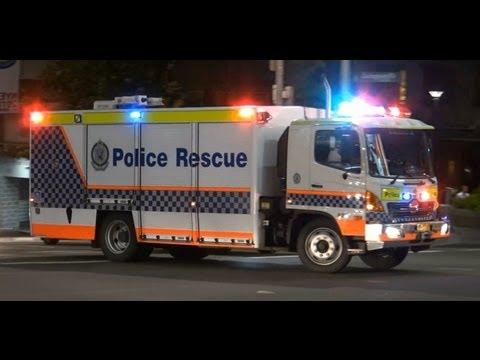 Rescue truck R20 Police-Rescue NSW Police