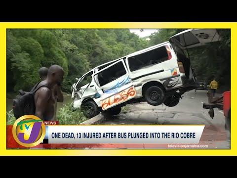 Bog Walk Gorge Jamaica Crash | TVJ News - June 8 2021