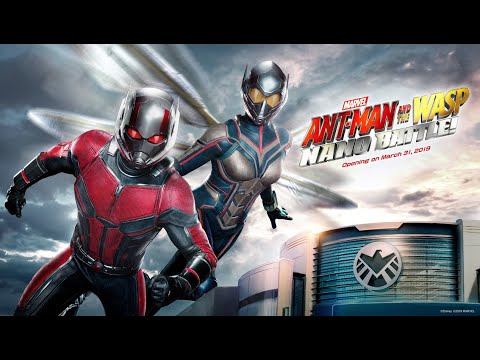 Ant-Man and The Wasp: Nano Battle! Opens March 31 at Hong Kong Disneyland