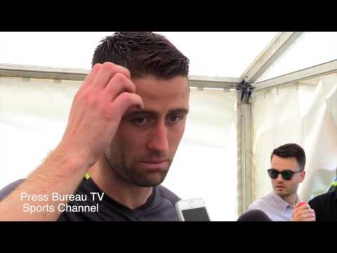 Gary Cahill Interview pre Chelsea vs Arsenal FA CUP FINAL
