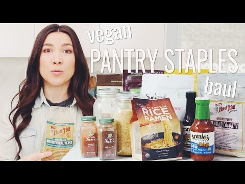 VEGAN PANTRY STAPLES HAUL (iHERB) | hot for food