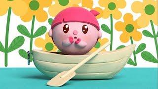 Малышарики - песенка -  Весело плывём -  для самых маленьких - клип на песню