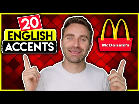 Ordering McDonald's In 20 ENGLISH ACCENTS