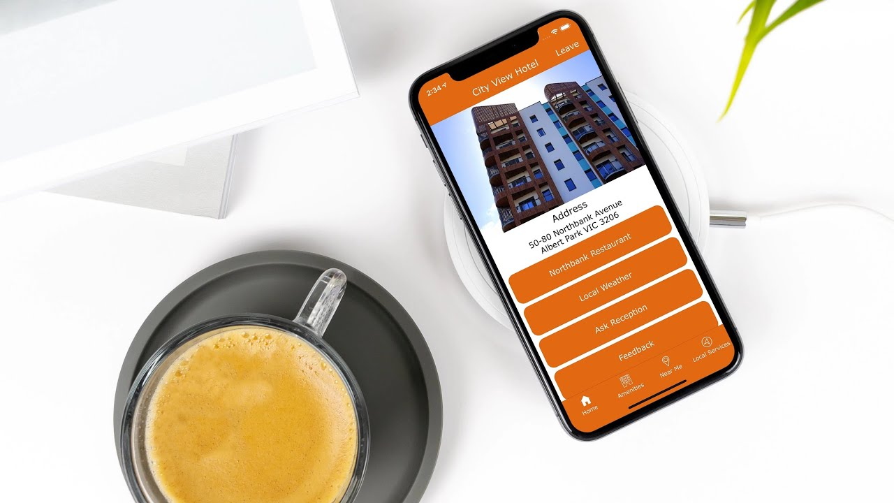 Hinfo Digital Hotel Solution powered by App IT Byte: Auto Translate