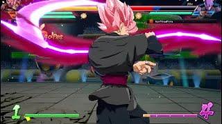 Una Partida Rapida Online | Dragon Ball FighterZ | Música Titania Armor