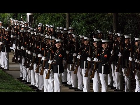 The Evening Parade - Marine Barracks Washington - 8/29/2014