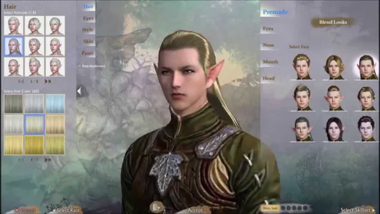 ArcheAge Character Creation