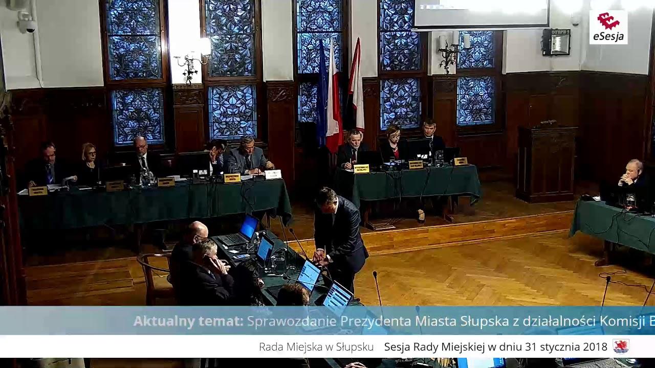 XLVIII sesja Rady Miejskiej w Słupsku
