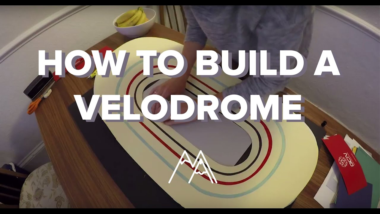How To Build A Velodrome  I Built A Velodrome For GCN