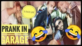 Prank In Bike Garage | Funny Prank In India | Prank Gone (Wrong)