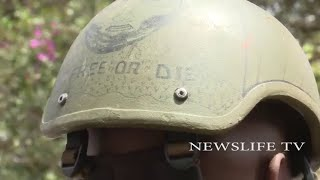 EXCLUSIVE!!!!  RECCE SQUAD  AND  KDF LEAVE DUSIT COMPLEX AFTER ELIMINATING THE TERRORISTS