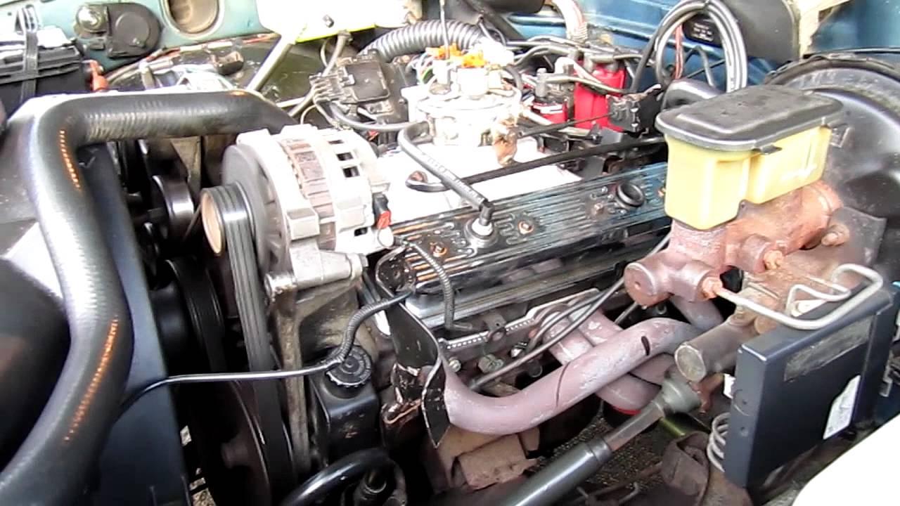 90 GMC Sierra, TBI 350  YouTube