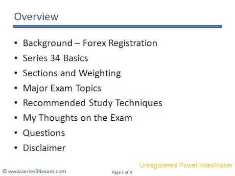 forex series exam