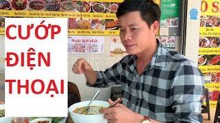 Bị giật điện thoại khi quay bún bò Huế tại quận 1, Tp.HCM!!!