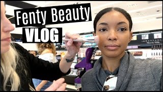Fenty Beauty Launch Day + Meeting New People VLOG | Brittany Daniel