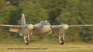 2013 Flying Proms de Havilland DH.98 Mosquito flight