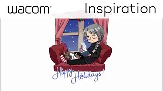Happy Holidays from Mikiko. Time to get warm & cozy while she takes...