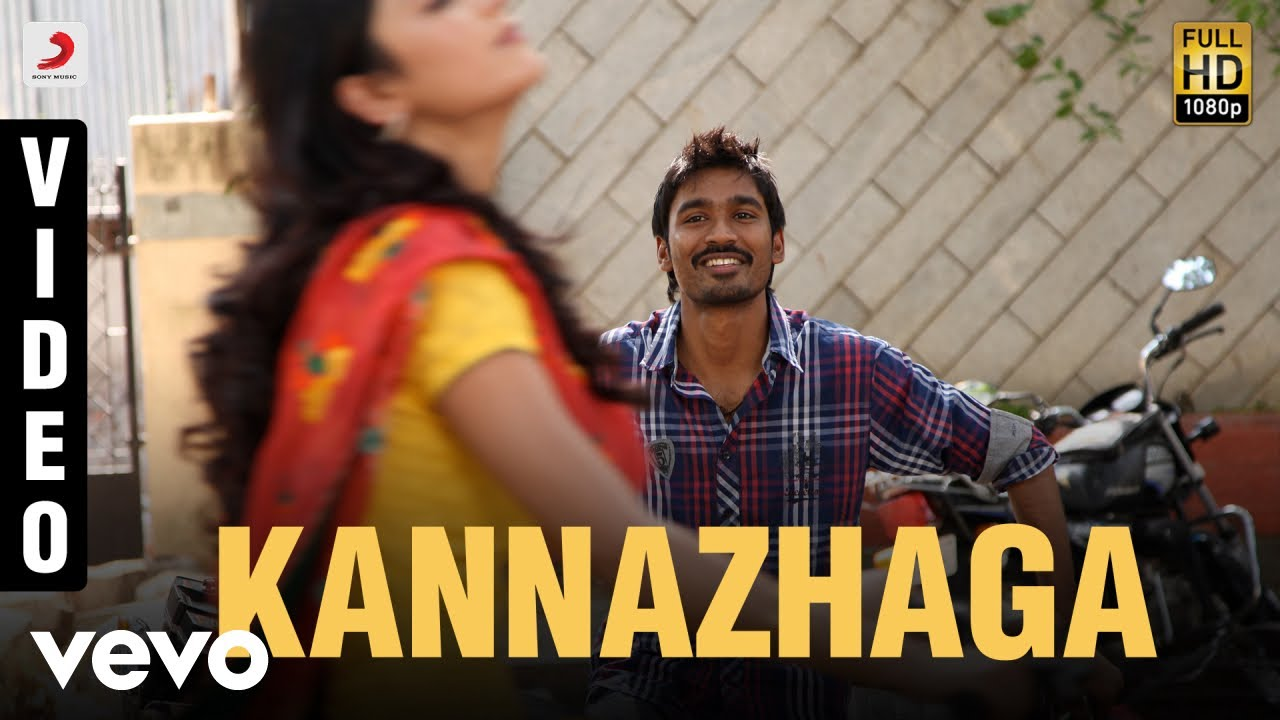 Download 3 - KannazhagaVideo | Dhanush, Shruti | Anirudh