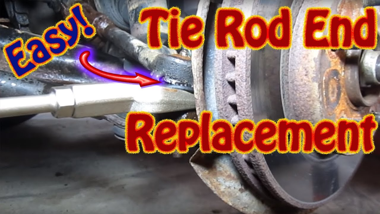DIY How to Replace Inner Outer Tie Rod Ends On a Chevy