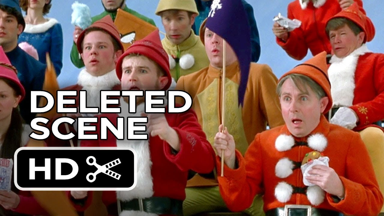 Elf Deleted Scene - Hockey (2003) - Will Ferrell Comedy HD