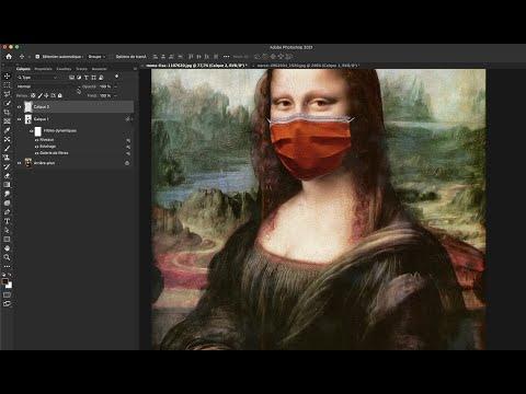 Masquez la Joconde avec Photoshop