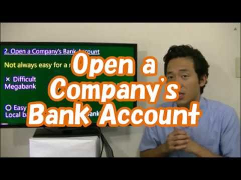#015 Open a Company's Bank Account - Start Business in Tokyo
