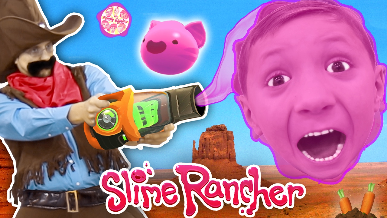 Download Gooey, Squishie Slime Monsters vs. FGTEEV Sheriff (Slime Rancher Farm Gameplay / Skit)