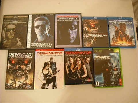 My Terminator Collection