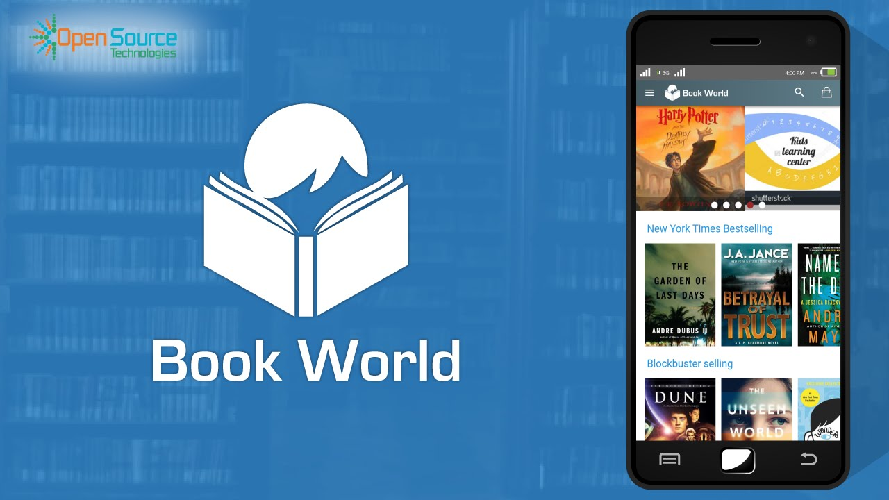 Book World App(Video Tutorial)- An app built with Ionic Framework +  AngularJS
