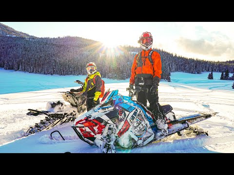 Best Snowmobiling Video On YouTube