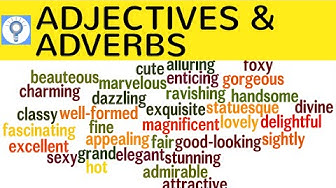 Adjektive & Adverbien im Englischen - Adjectives and adverbs - Unterschied, Comparison, Difference