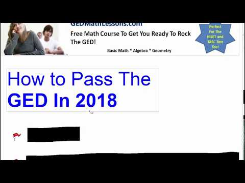 How to Pass The GED Exam In 2018