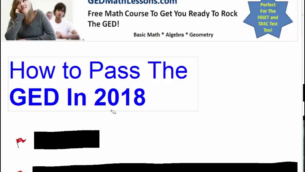 How to Pass The GED Exam In 2018 - YouTube