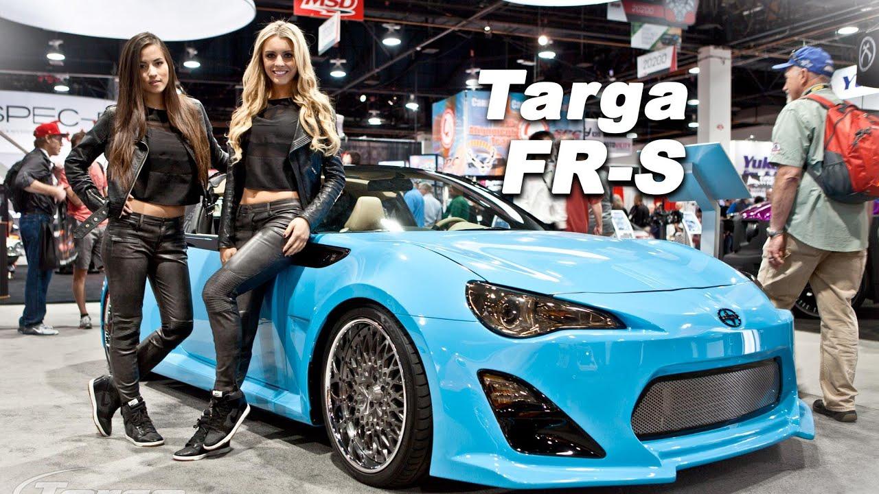 Scion Fr S Widebody T1 Targa Style By Customs