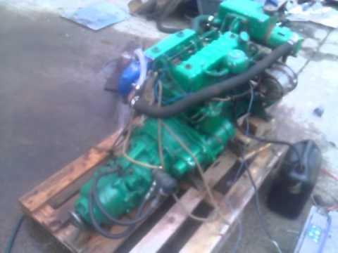Perkins 4107 48hp Marine Diesel Engine