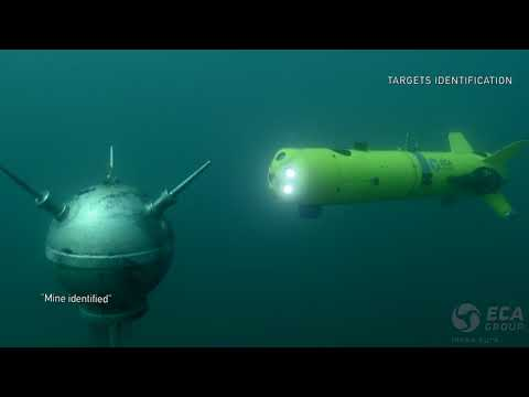 ECA Group - Unmanned Mine Counter Measures Systems (UMIS)