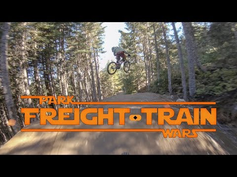 Freight Train  A Park Wars Story   Whistler Bike Park  4k GoPro POV