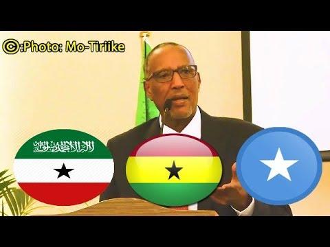 Madaxweyne Biixi Oo Shaciyay Goobta Wada Hadalada Somalia & Somaliland Kafurmayo--Wakhtiga