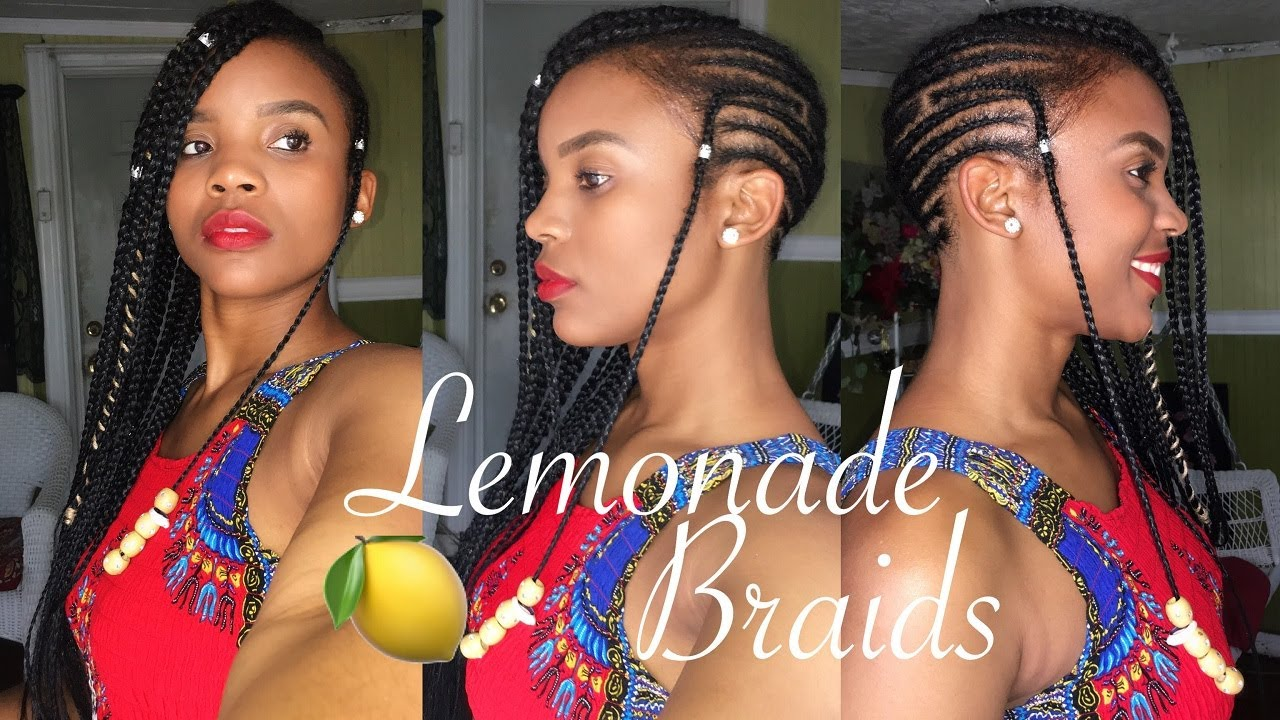 Diy Beyonce Lemonade Inspired Braids W A Twist