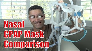 Nasal CPAP Mask Comparison. Best CPAP nasal masks to start with.