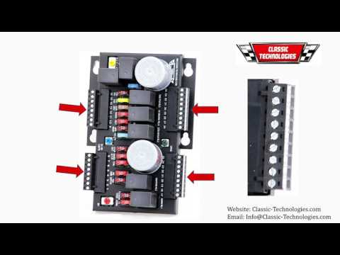classic technologies aftermarket fusebox rewiring classic car classic technologies aftermarket fusebox rewiring classic car