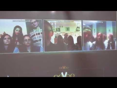 Video-conference with partners from Latvia, Poland and Hungary  part 1