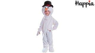 Новогодний детский костюм снеговика для мальчика / Обзор