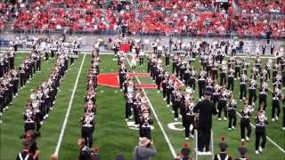 Ohio State University Marching Band Flash Mob Halftime 11 13 2010 OSU vs Penn St