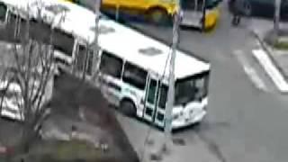 CRAZY BUS DRIVER!!!
