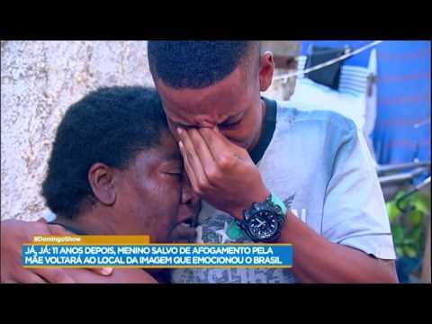 Geraldo Luís encontra mãe heroína e a presenteia com surpresas