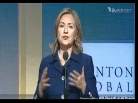 Secretary Clinton Announces the Global Alliance for Clean Cookstoves