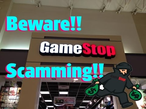 SCAM!! Don't buy from Gamestop Dec. 2016 They're selling ...Gamestop