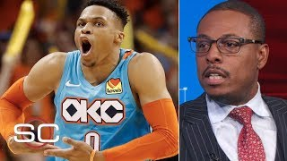 The Blazers will beat the Thunder in 6 games – Paul Pierce | SportsCenter